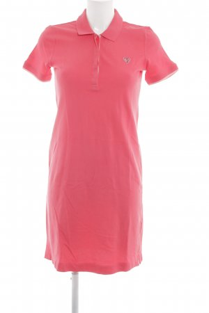 s.Oliver Polokleid pink Allover-Druck Casual-Look