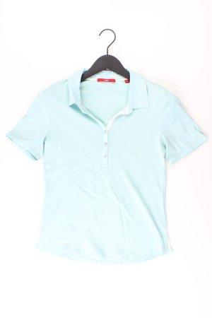 s.Oliver Poloshirt Größe 38 Kurzarm blau aus Baumwolle