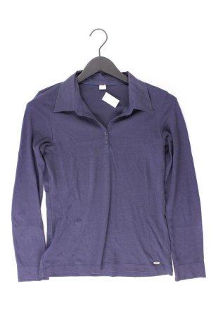 s.Oliver Poloshirt Größe 38 Langarm blau aus Baumwolle