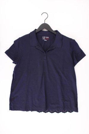 s.Oliver Polo Shirt blue-neon blue-dark blue-azure cotton