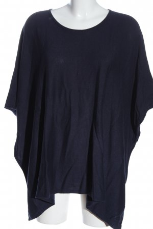 s.Oliver Poncho azul look casual