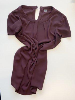 s.Oliver Blouse à manches courtes violet tissu mixte