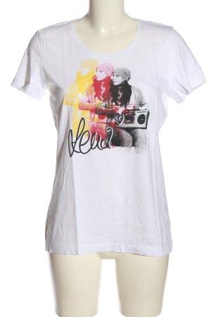s.Oliver Print-Shirt Motivdruck Casual-Look
