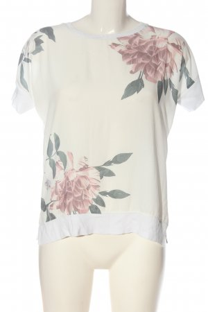 s.Oliver Print-Shirt Blumenmuster Casual-Look