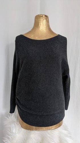 s.Oliver Maglione di lana grigio scuro