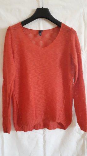 s.Oliver Pullover Größe M, orange