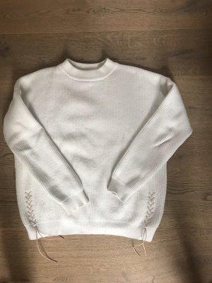 S.oliver Pullover weiß Größe m