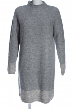 s.Oliver Sweater Dress light grey flecked casual look