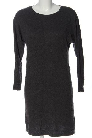 s.Oliver Abito maglione grigio chiaro puntinato stile casual