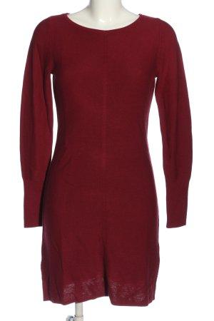 s.Oliver Vestido tipo jersey rojo look casual