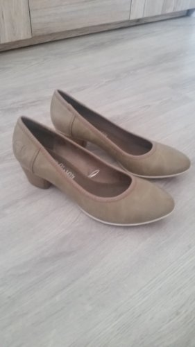 s.Oliver Classic Court Shoe grey brown