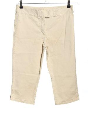 s. Oliver (QS designed) Pantalón capri blanco puro look casual