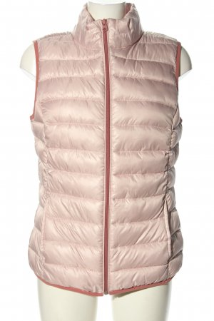 s. Oliver (QS designed) Quilted Gilet pink quilting pattern casual look