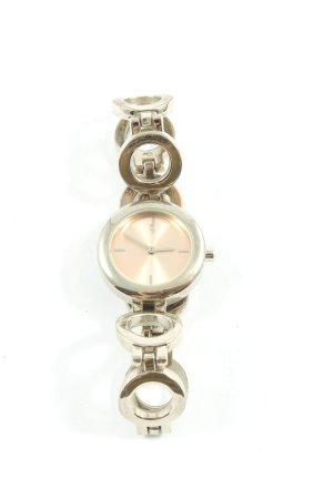 s. Oliver (QS designed) Montre avec bracelet métallique argenté