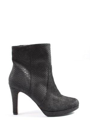 s.Oliver Reißverschluss-Stiefeletten schwarz Elegant