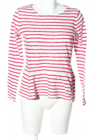 s.Oliver Stripe Shirt red-white allover print casual look