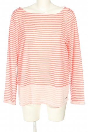 s.Oliver Ringelshirt wollweiß-nude Streifenmuster Casual-Look
