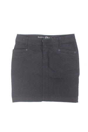 s.Oliver Rock Größe 36 schwarz aus Baumwolle