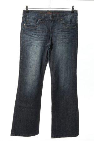 s.Oliver Jeans bootcut bleu style décontracté