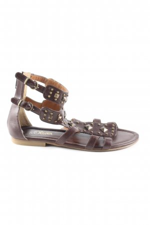 s.Oliver Roman Sandals brown casual look
