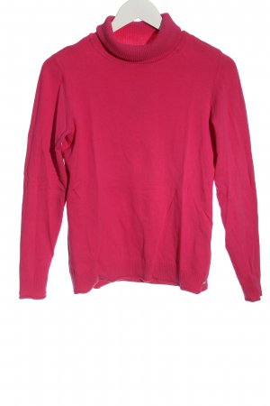 s.Oliver Rollkragenpullover pink Casual-Look
