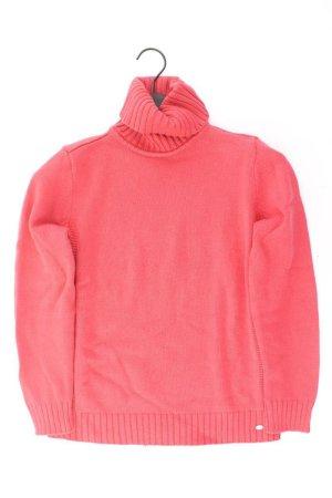 s.Oliver Rollkragenpullover Größe 42 rot aus Baumwolle