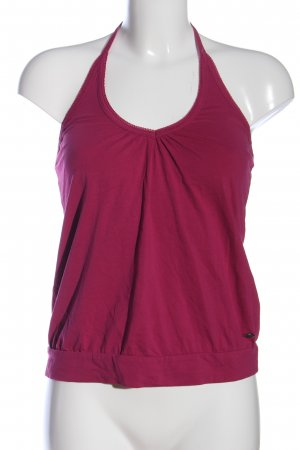 s.Oliver Backless Top pink casual look