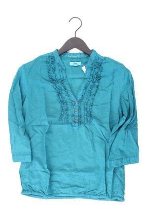 s.Oliver Ruffled Blouse turquoise