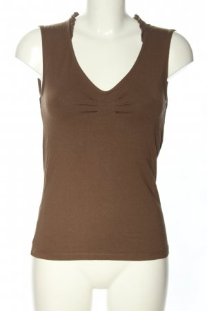 s.Oliver Frill Top brown casual look