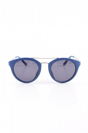 s.Oliver runde Sonnenbrille blau Casual-Look