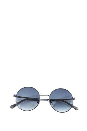 s.Oliver runde Sonnenbrille blau-schwarz Casual-Look
