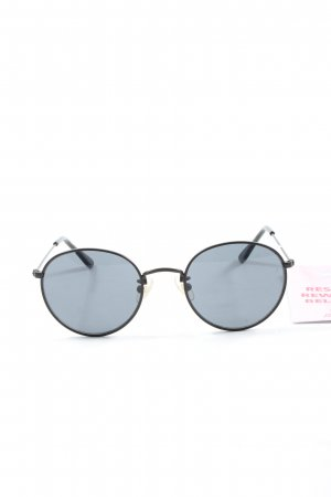s.Oliver Round Sunglasses black-blue casual look