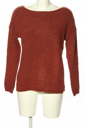 s.Oliver Rundhalspullover rot Casual-Look