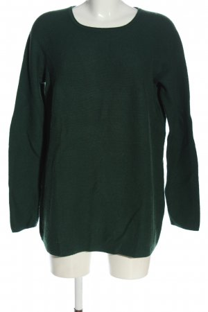 s.Oliver Crewneck Sweater green casual look