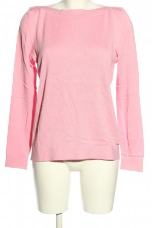s.Oliver Rundhalspullover pink Casual-Look