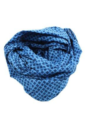 s.Oliver Caperuza azul estampado repetido sobre toda la superficie look casual