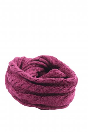 s.Oliver Snood pink cable stitch casual look