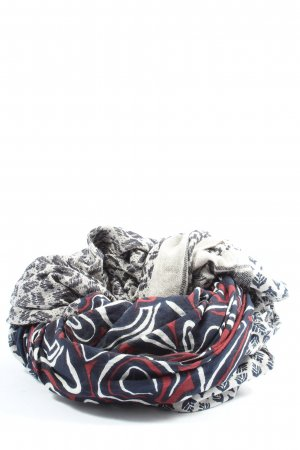 s.Oliver Écharpe ronde multicolore style décontracté