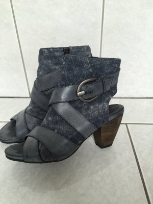 s.Oliver Cut Out Booties blue-dark blue