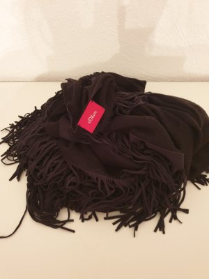 s.Oliver Knitted Scarf black