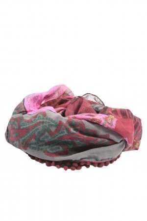 s.Oliver Tube Scarf abstract pattern casual look