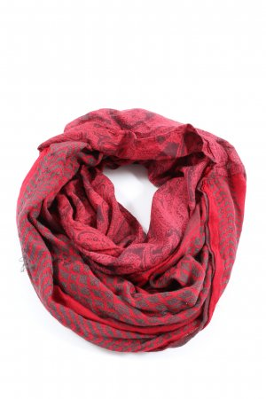 s.Oliver Tube Scarf red abstract pattern casual look