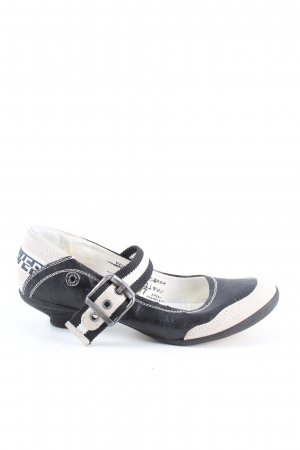 s.Oliver Slip-on Shoes black-white casual look