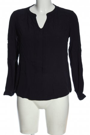 s.Oliver Schlupf-Bluse lila Casual-Look