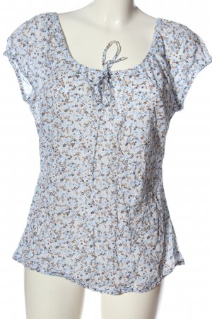 s.Oliver Schlupf-Bluse Allover-Druck Casual-Look