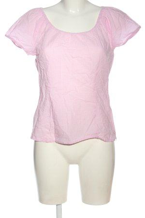 s.Oliver Schlupf-Bluse pink-weiß Allover-Druck Casual-Look