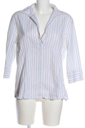 s.Oliver Slip-over Blouse white-light grey allover print business style