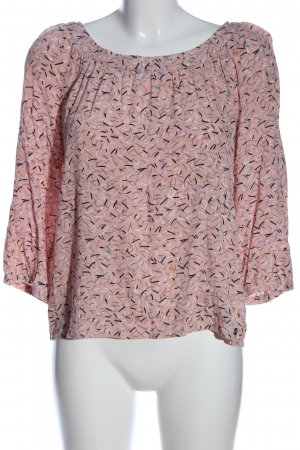 s.Oliver Schlupf-Bluse abstraktes Muster Casual-Look