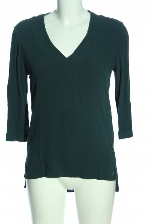 s.Oliver Schlupf-Bluse türkis Casual-Look