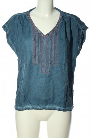 s.Oliver Schlupf-Bluse blau Casual-Look